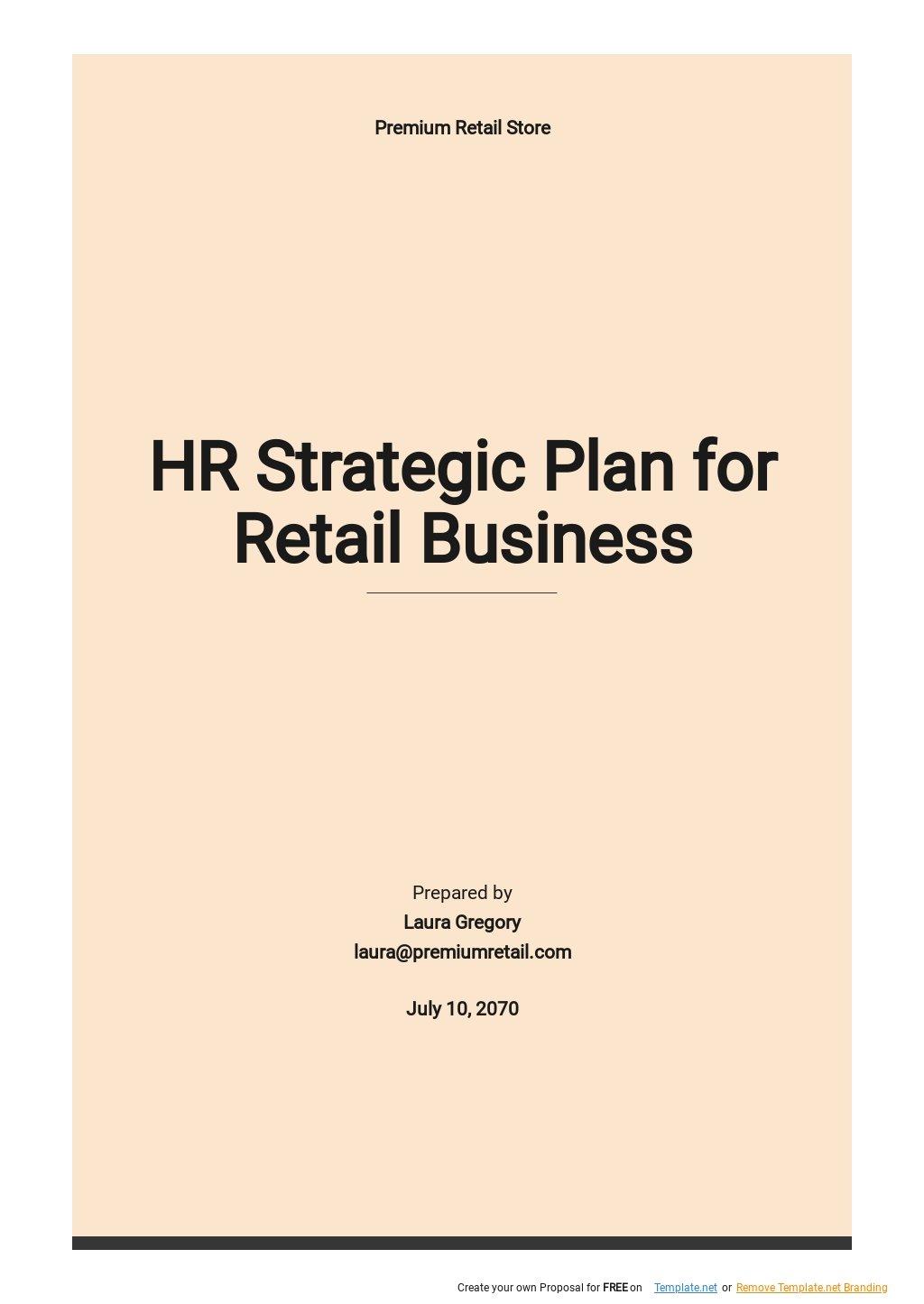 HR Strategic Plan Template for Retail Business .jpe