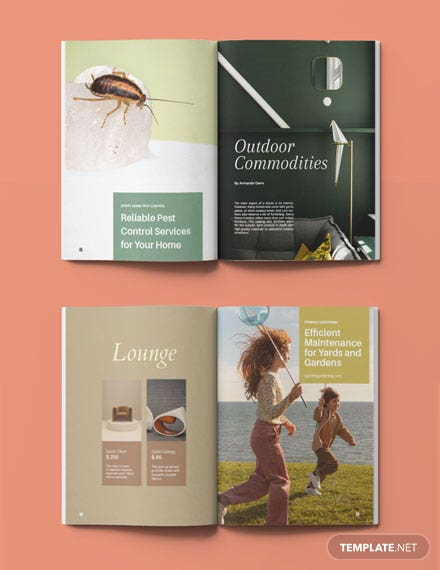 Home Furniture Catalog Template Format