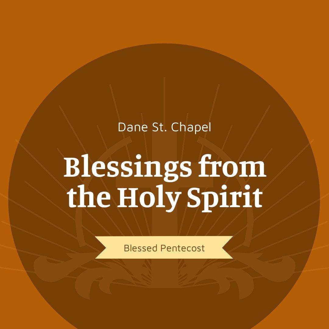 Pentecost Sunday Church Instagram Post Template.jpe