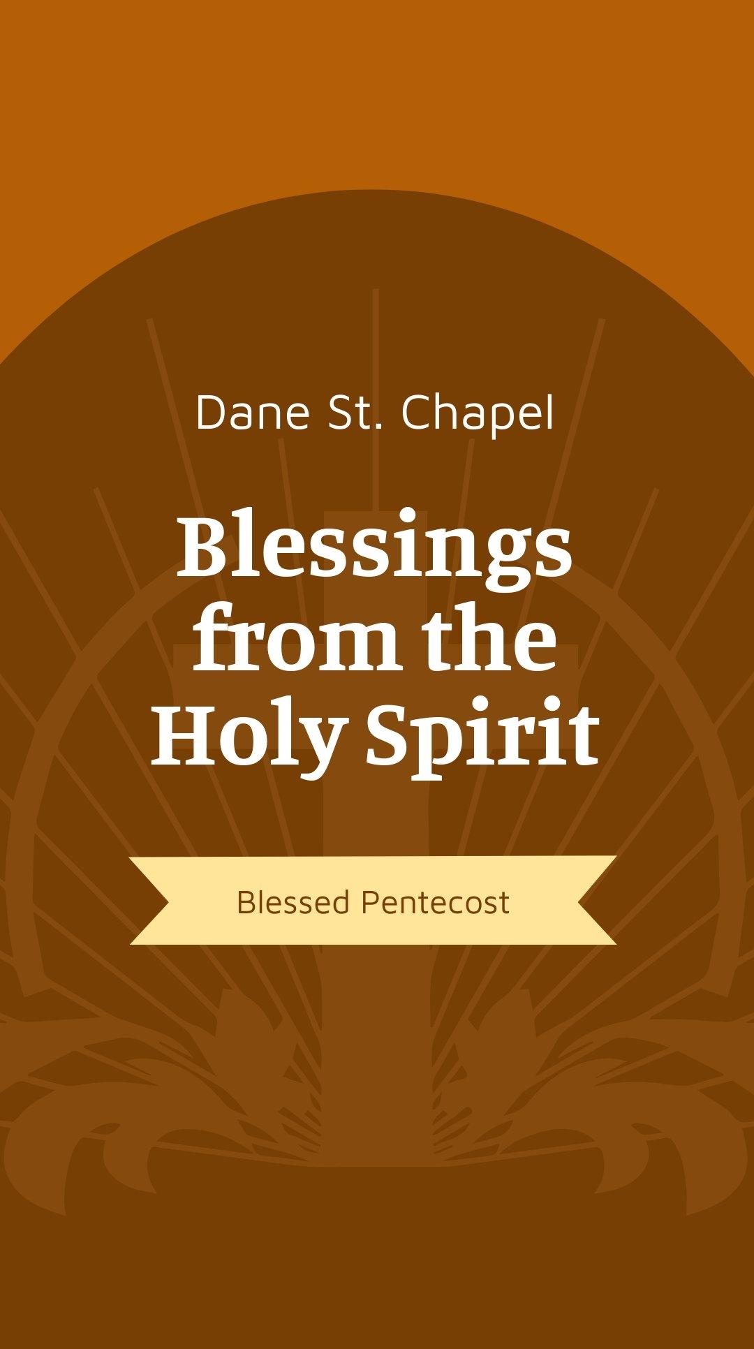 Pentecost Sunday Church Instagram Story Template.jpe