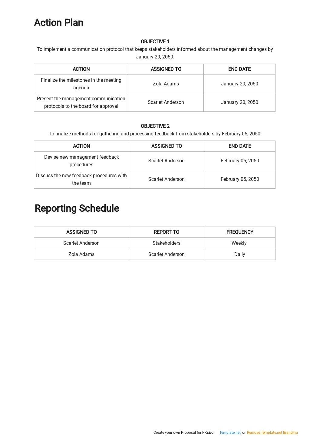 Change Management Communication Plan Template 2.jpe