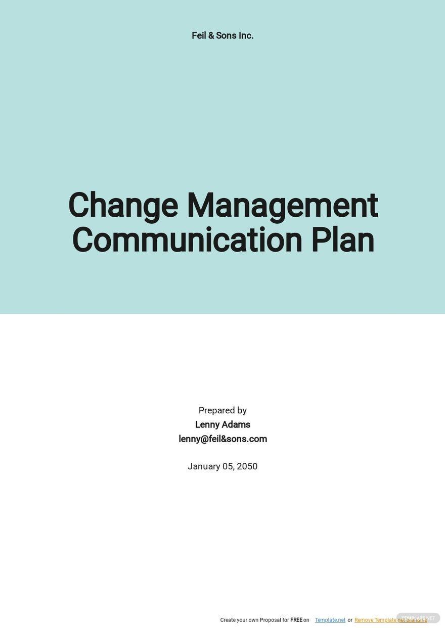 Change Management Communication Plan Template.jpe