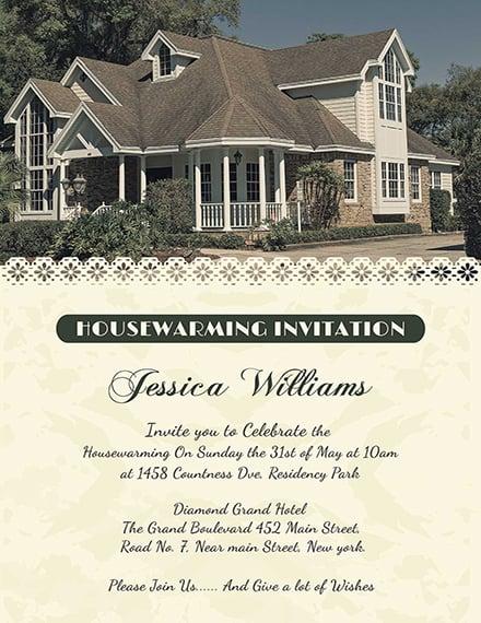 Welcoming Housewarming Invitation Card