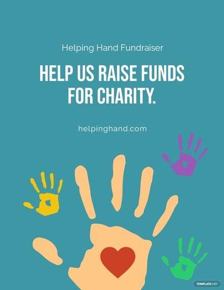 Fundraiser Campaign Flyer Template.jpe