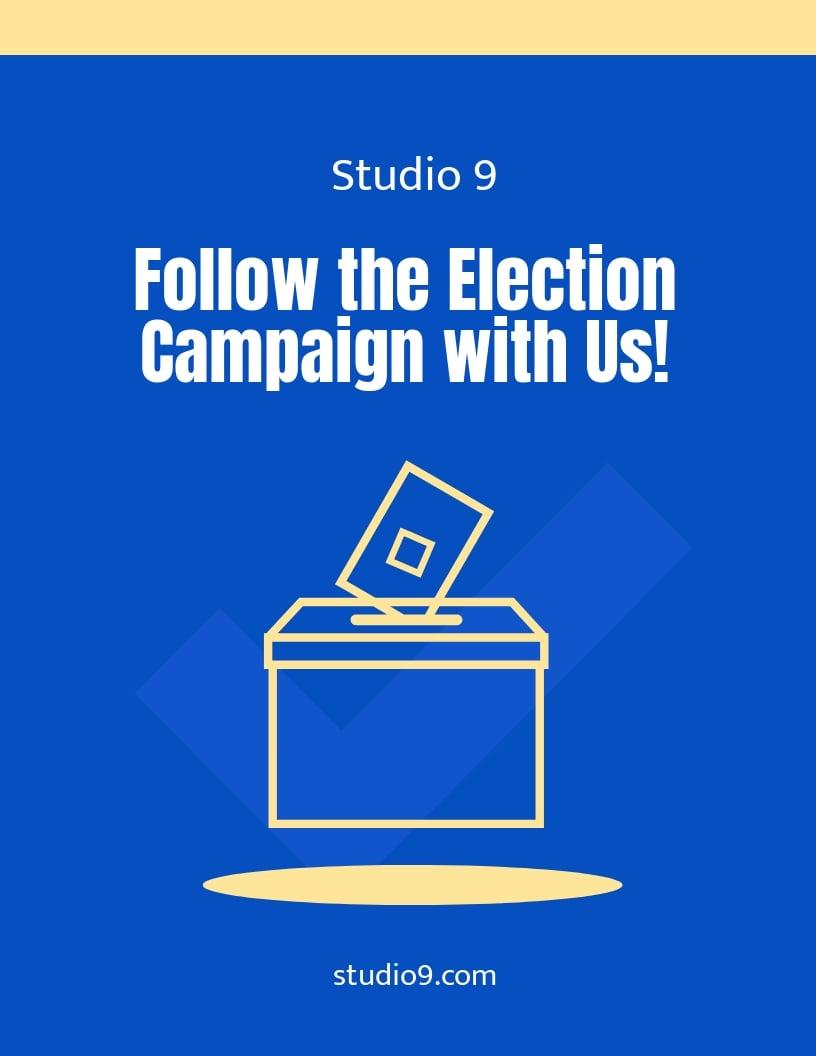 Modern Campaign Flyer Template.jpe