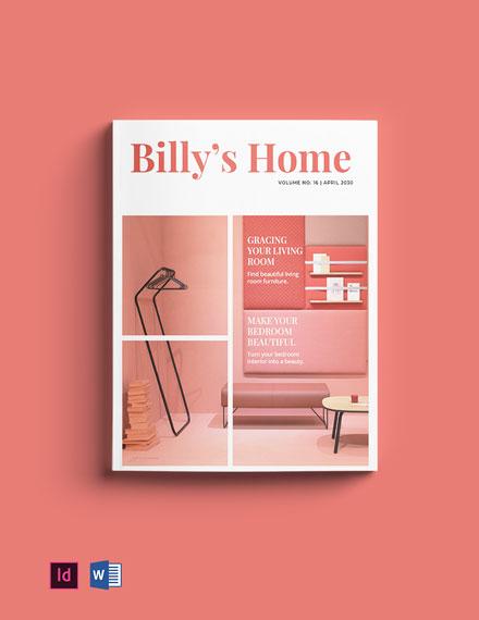 Simple Interior Catalogue Template