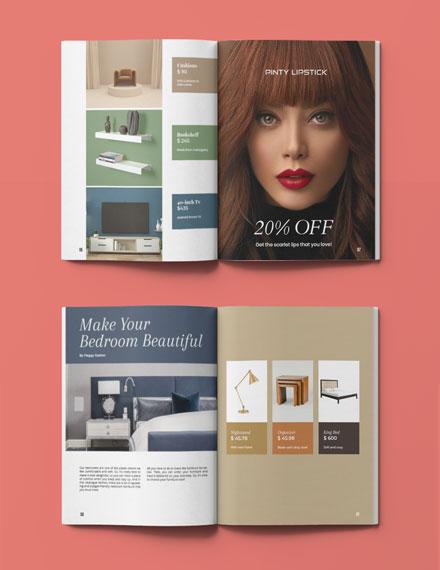 Simple Interior Catalogue Template Format