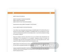 Free Recommendation Letter Template for Promotion