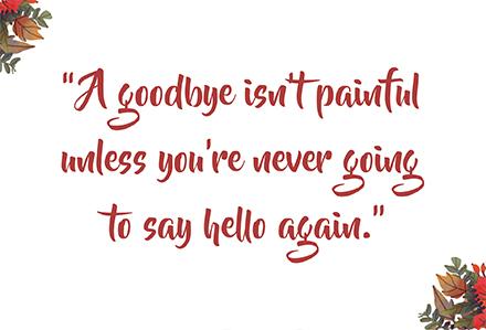 Goodbye Farewell Invitation Card Design Template