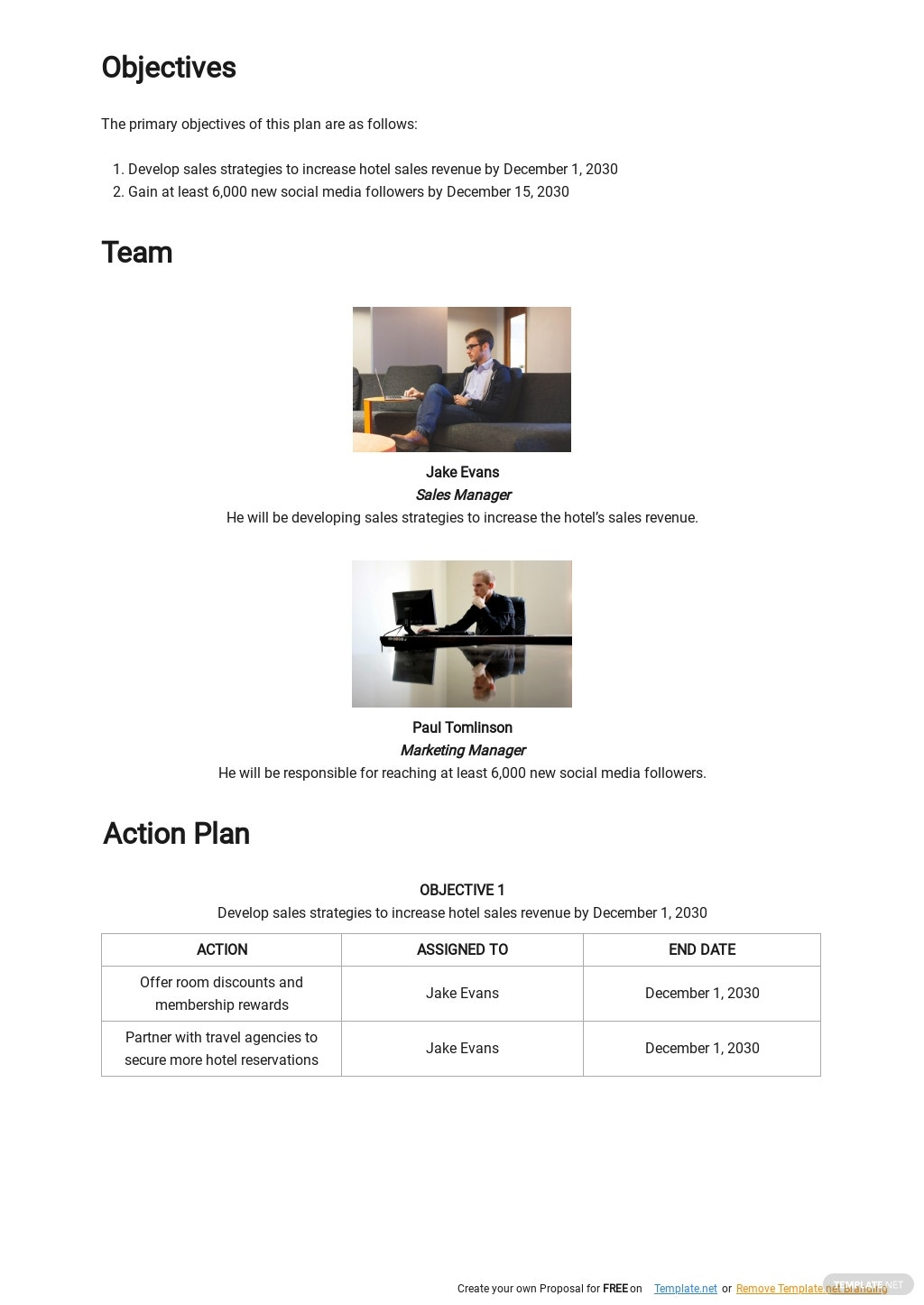 Hotel Sales and Marketing Action Plan Template 1.jpe