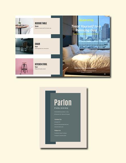 Elegant Corporate Catalog Template Format