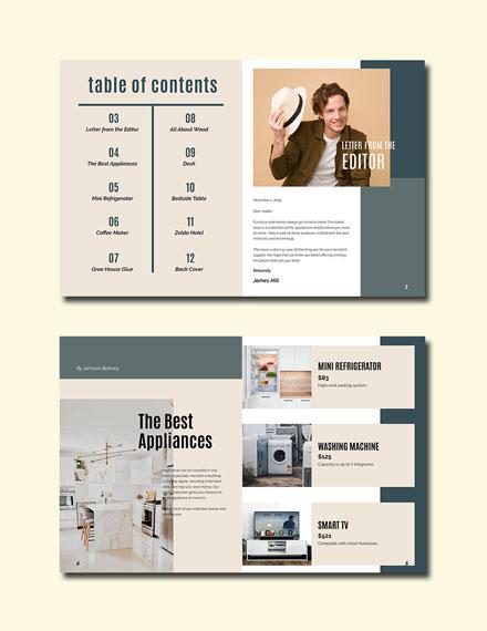 Elegant Corporate Catalog Template
