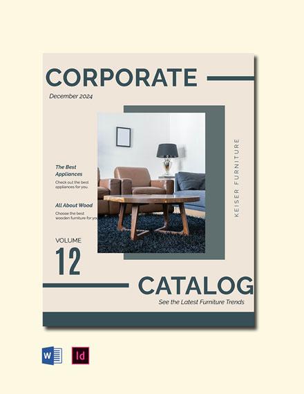 Elegant Corporate Catalog