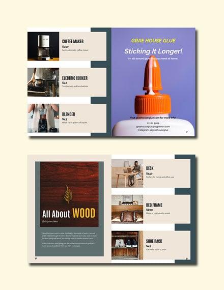 Free Elegant Corporate Catalog Template