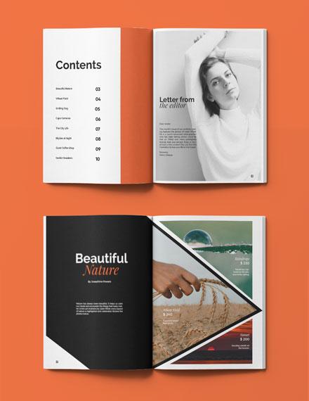 Multipurpose Portfolio Catalog Template Format