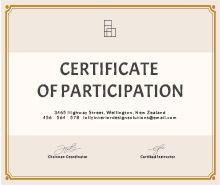 choir certificate template