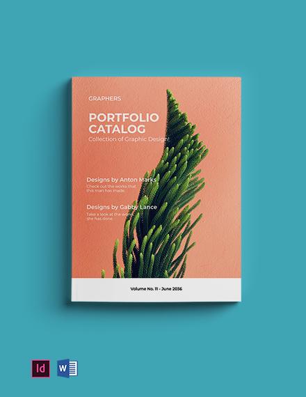 Minimalistic Portfolio Catalog Template