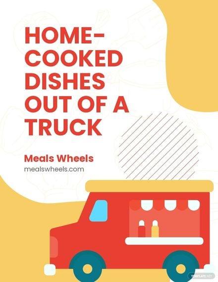 Food Truck Event Flyer Template.jpe