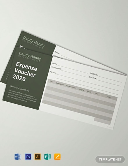 Free Expense Voucher Template