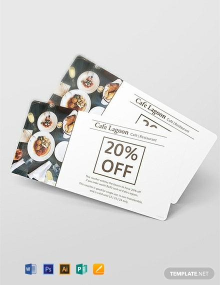 Free Food Voucher Template
