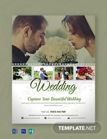 Free Wedding Photography Flyer Template