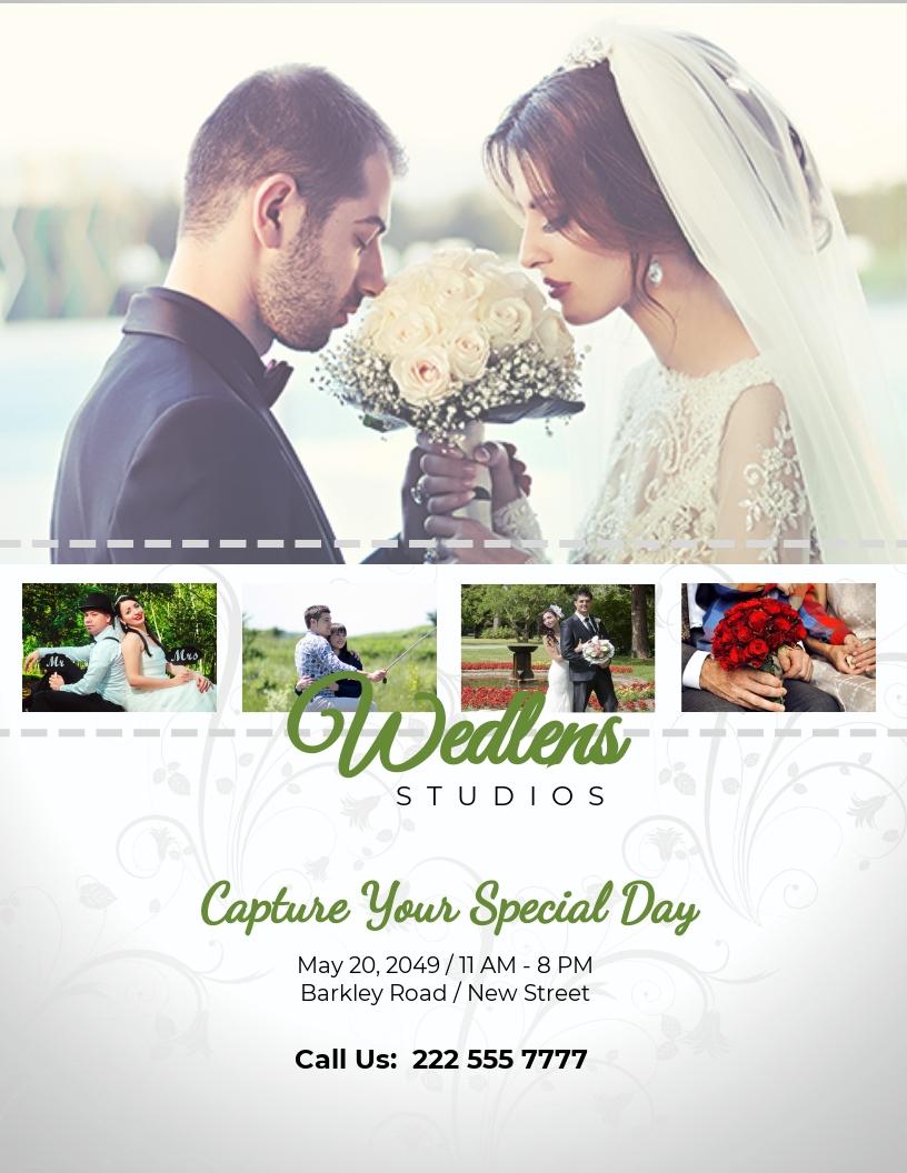 Wedding Photography Flyer Template.jpe