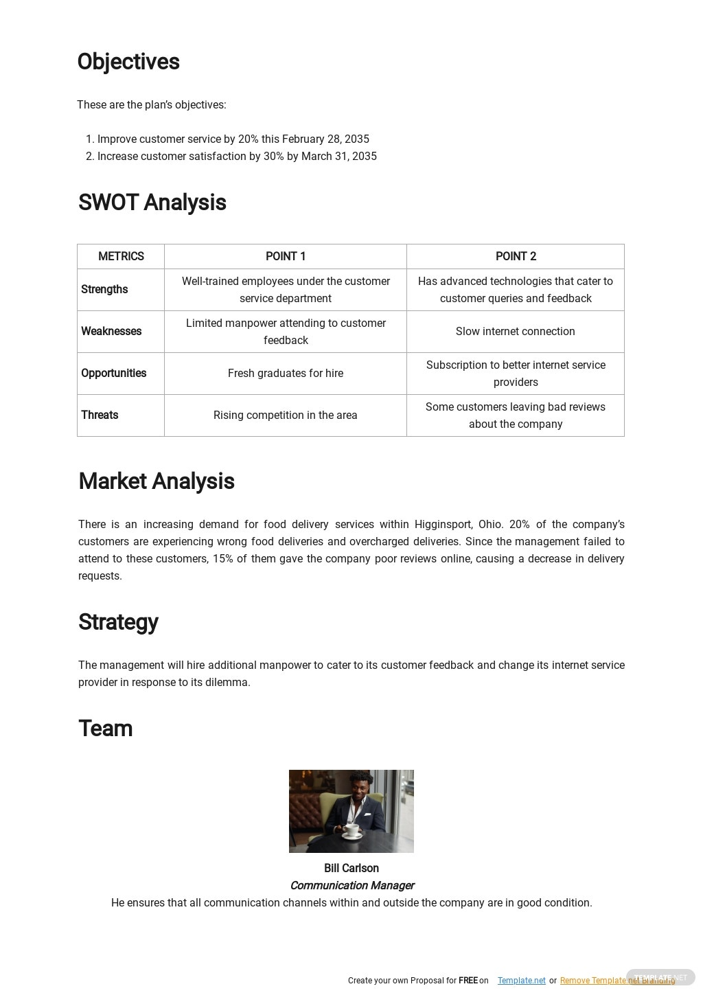 Customer Service Improvement Plan Template 1.jpe