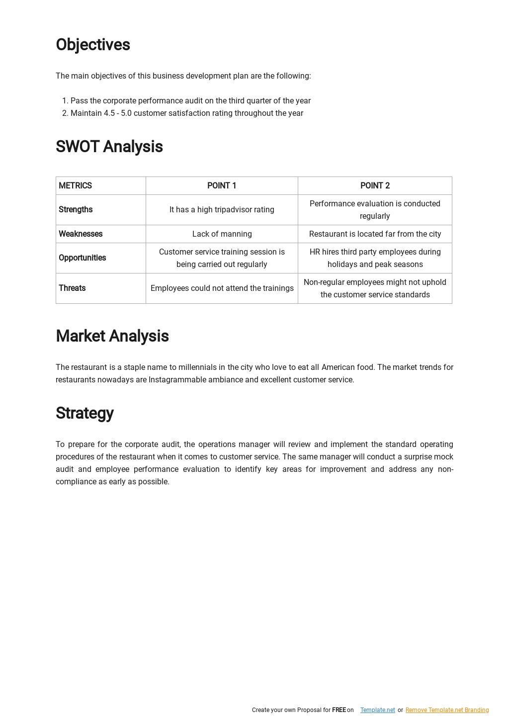 Customer Service Performance Improvement Plan Template 1.jpe