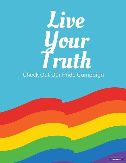 Pride Campaign Flyer Template.jpe