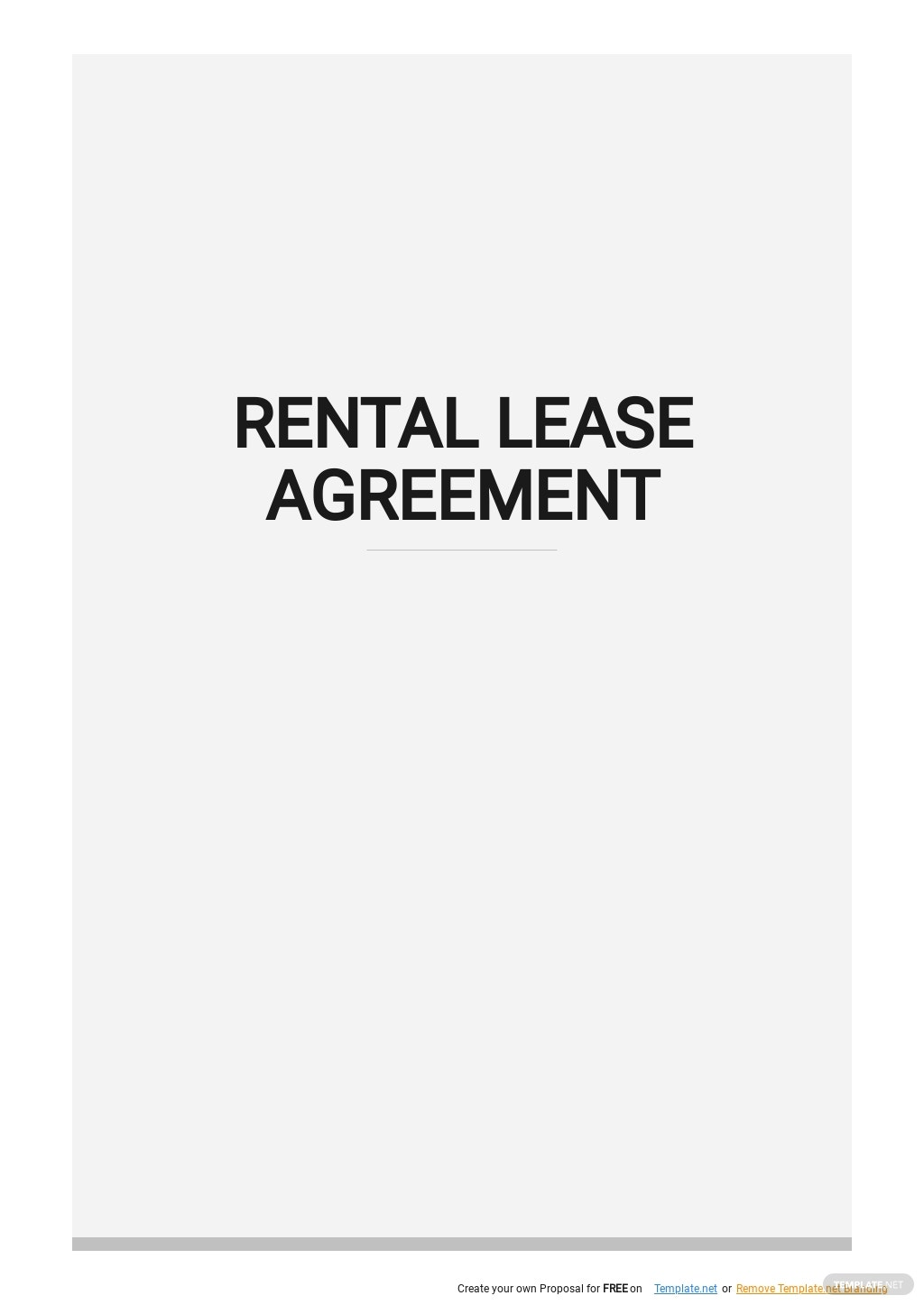 Simple Rental Lease Agreement Template .jpe