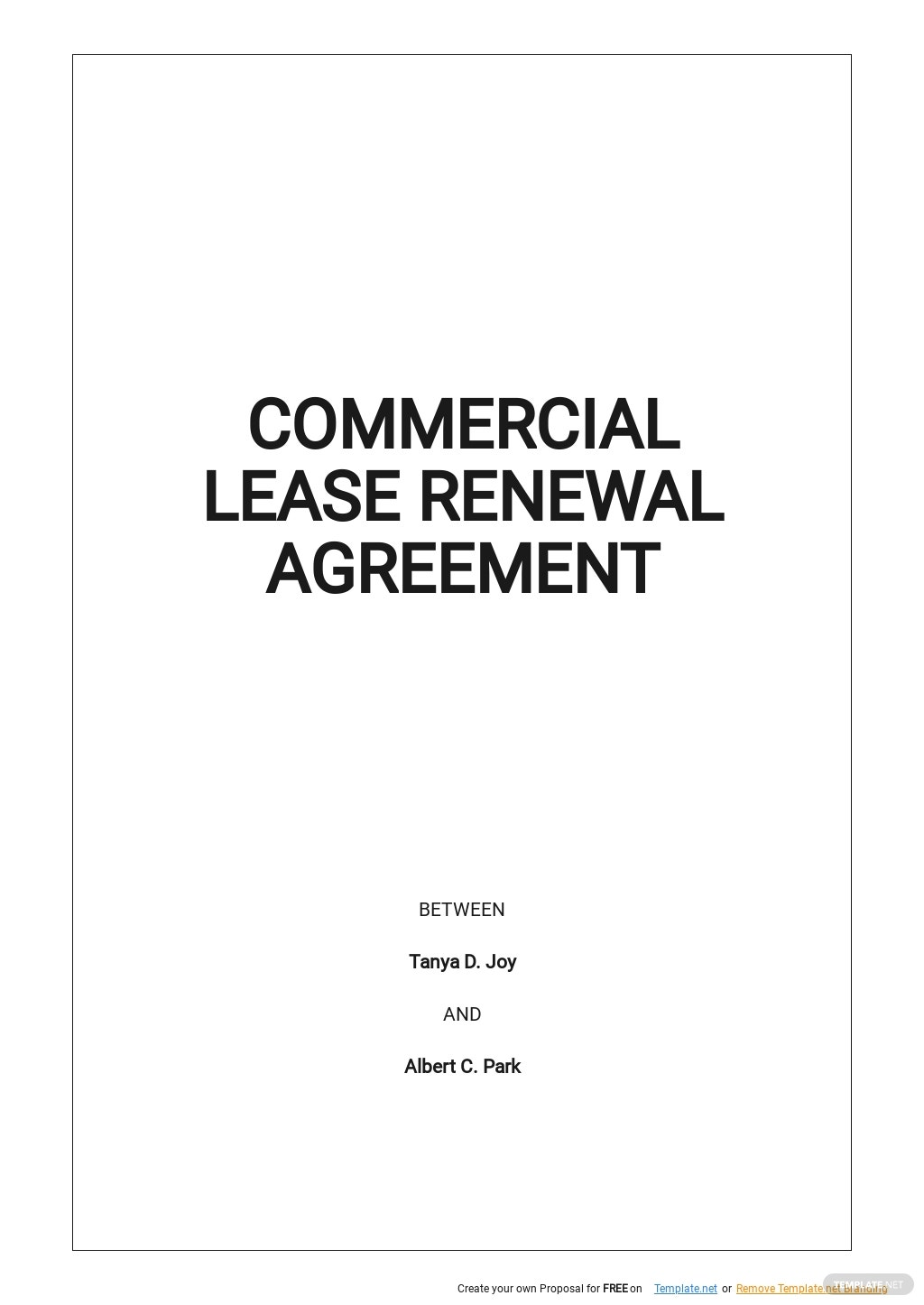 Commercial Lease Renewal Agreement Template.jpe