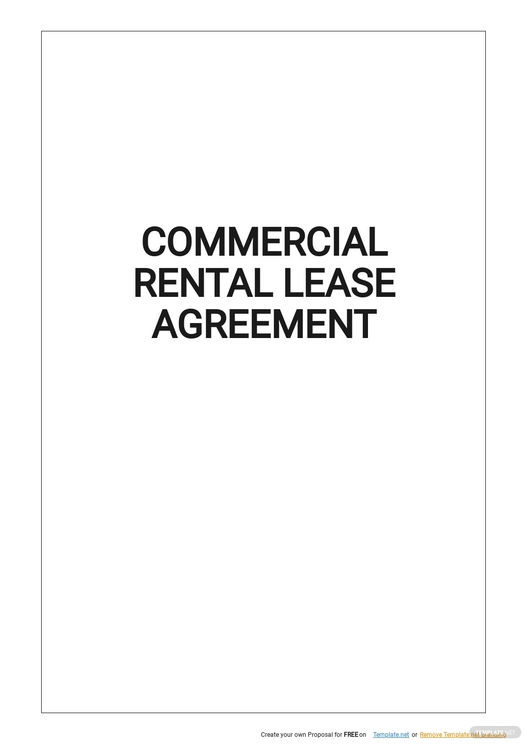 Sample Commercial Rental Lease Agreement Template.jpe