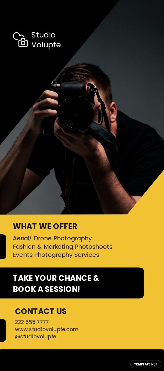 Professional Photography Rack Card Template.jpe