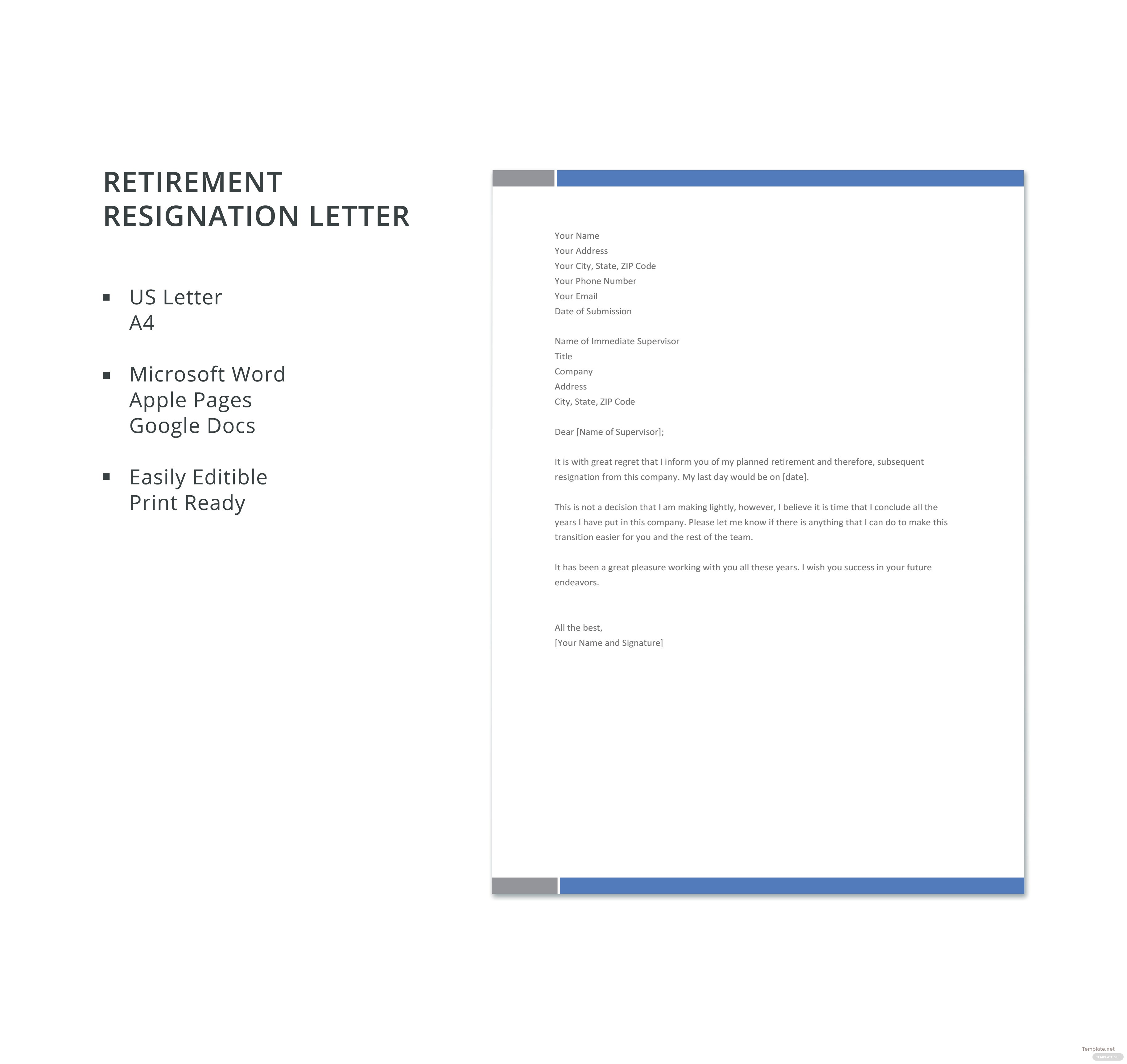 Free retirement resignation letter template in microsoft word apple retirement resignation letter template spiritdancerdesigns Gallery