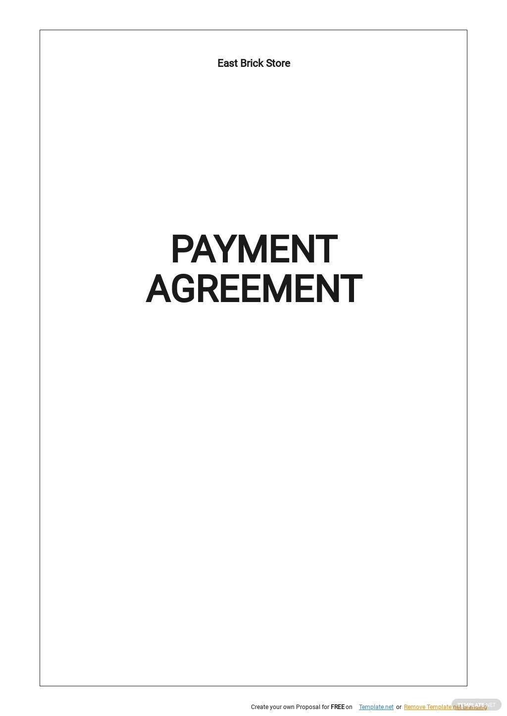 Simple Payment Agreement Template.jpe
