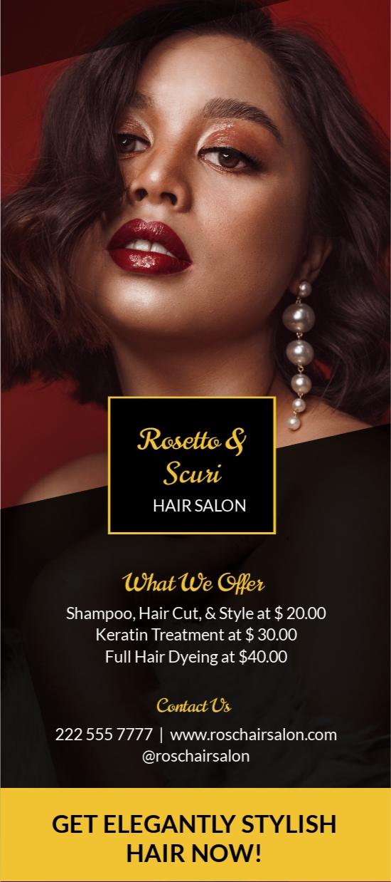 Elegant Salon Rack Card Template.jpe