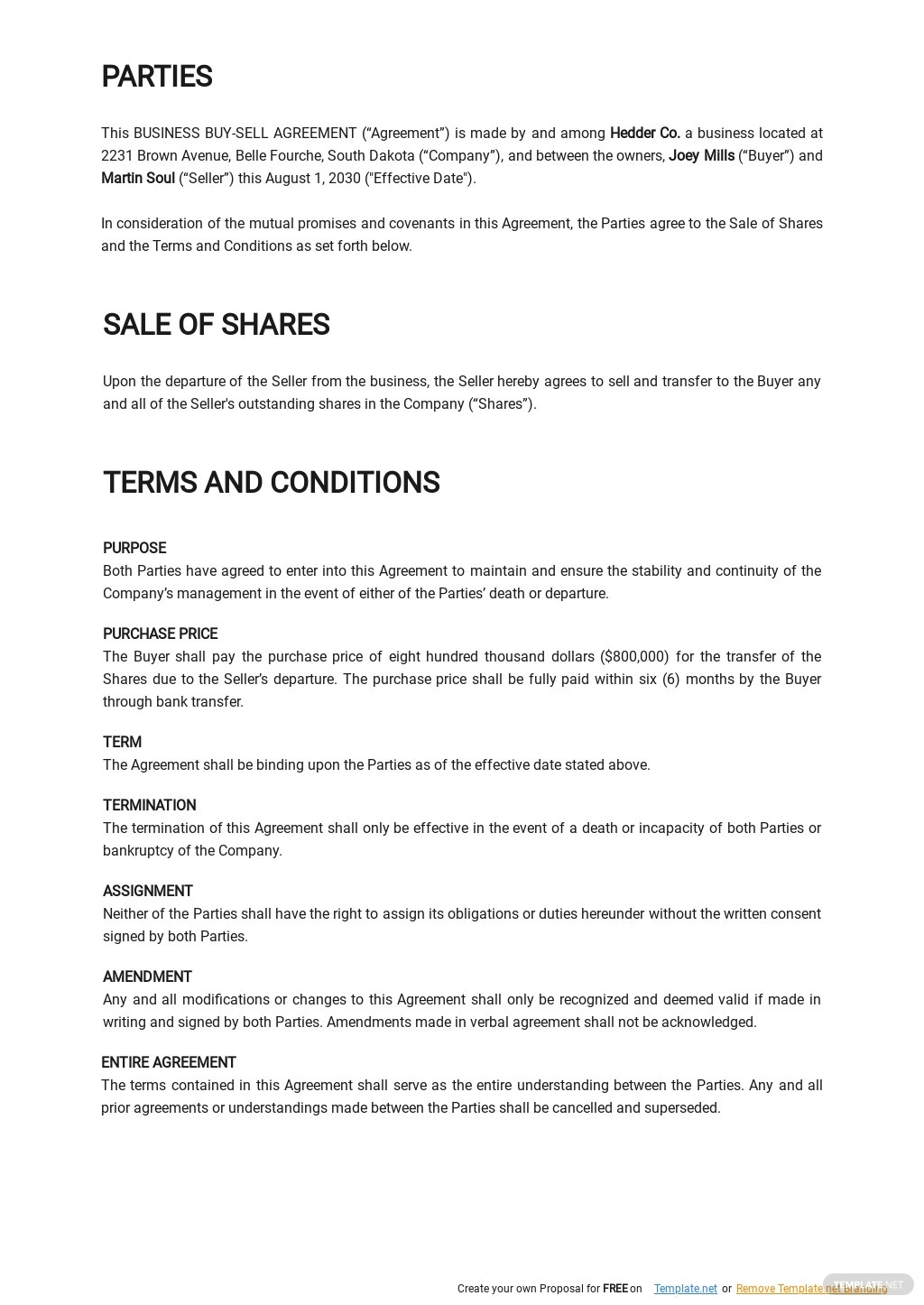 Business Buy Sell Agreement Template 1.jpe