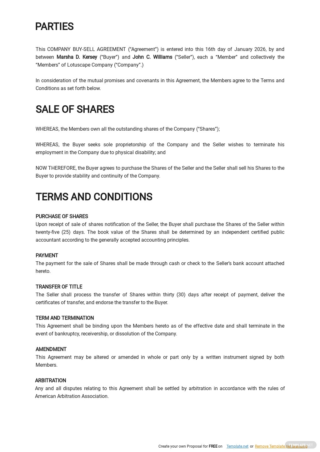 Company Buy Sell Agreement Template 1.jpe