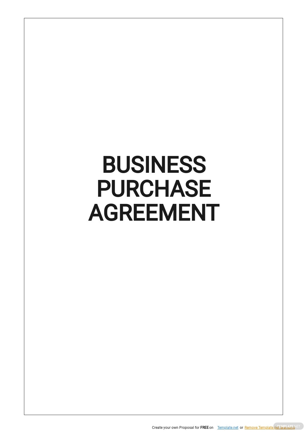 Simple Business Purchase Agreement Template.jpe
