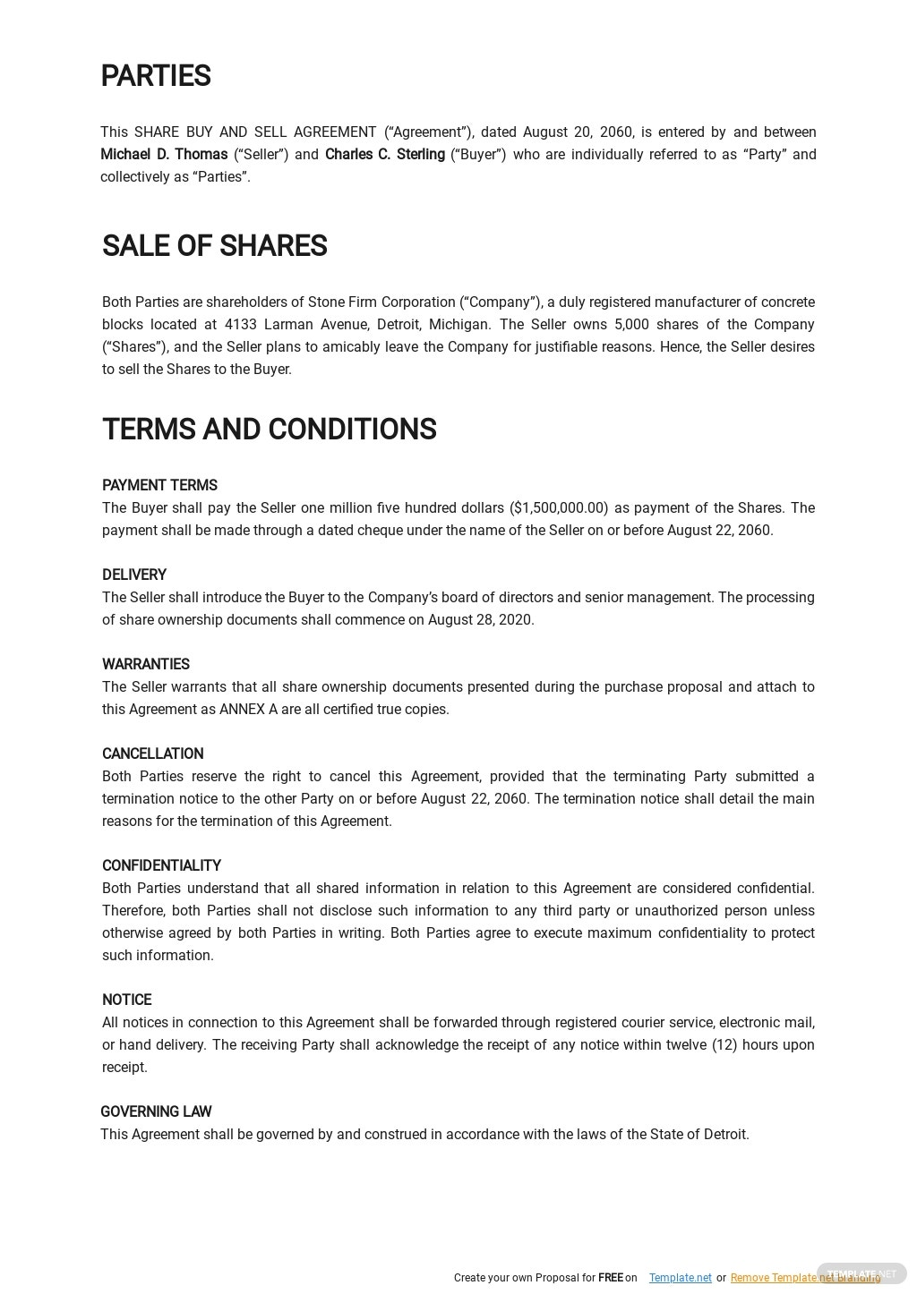 Share Buy Sell Agreement Template 1.jpe