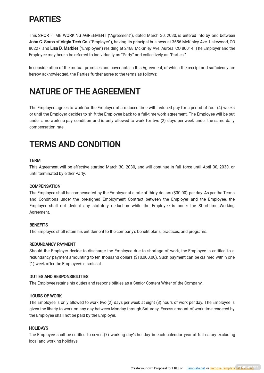 Short Time Working Agreement Template 1.jpe