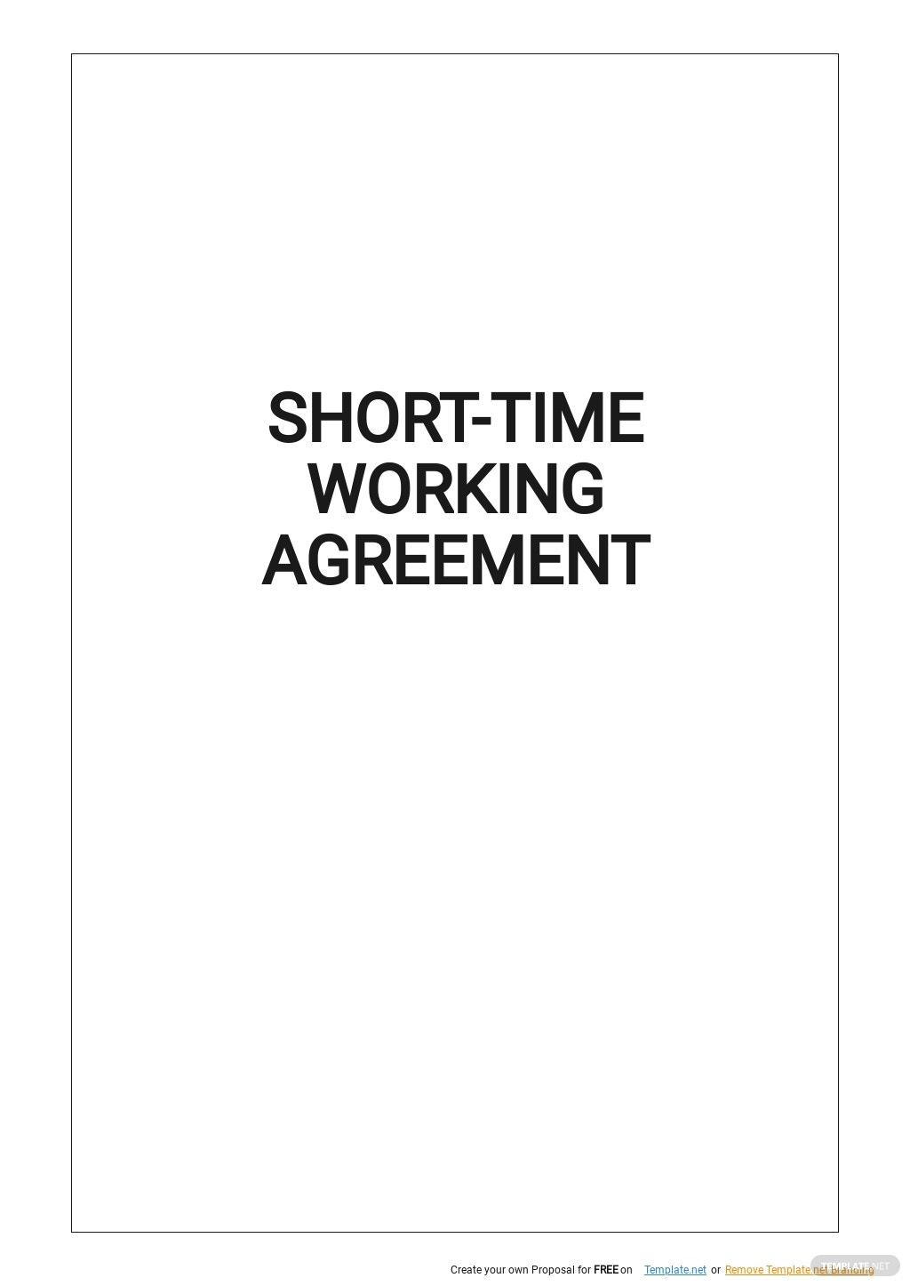 Short Time Working Agreement Template.jpe