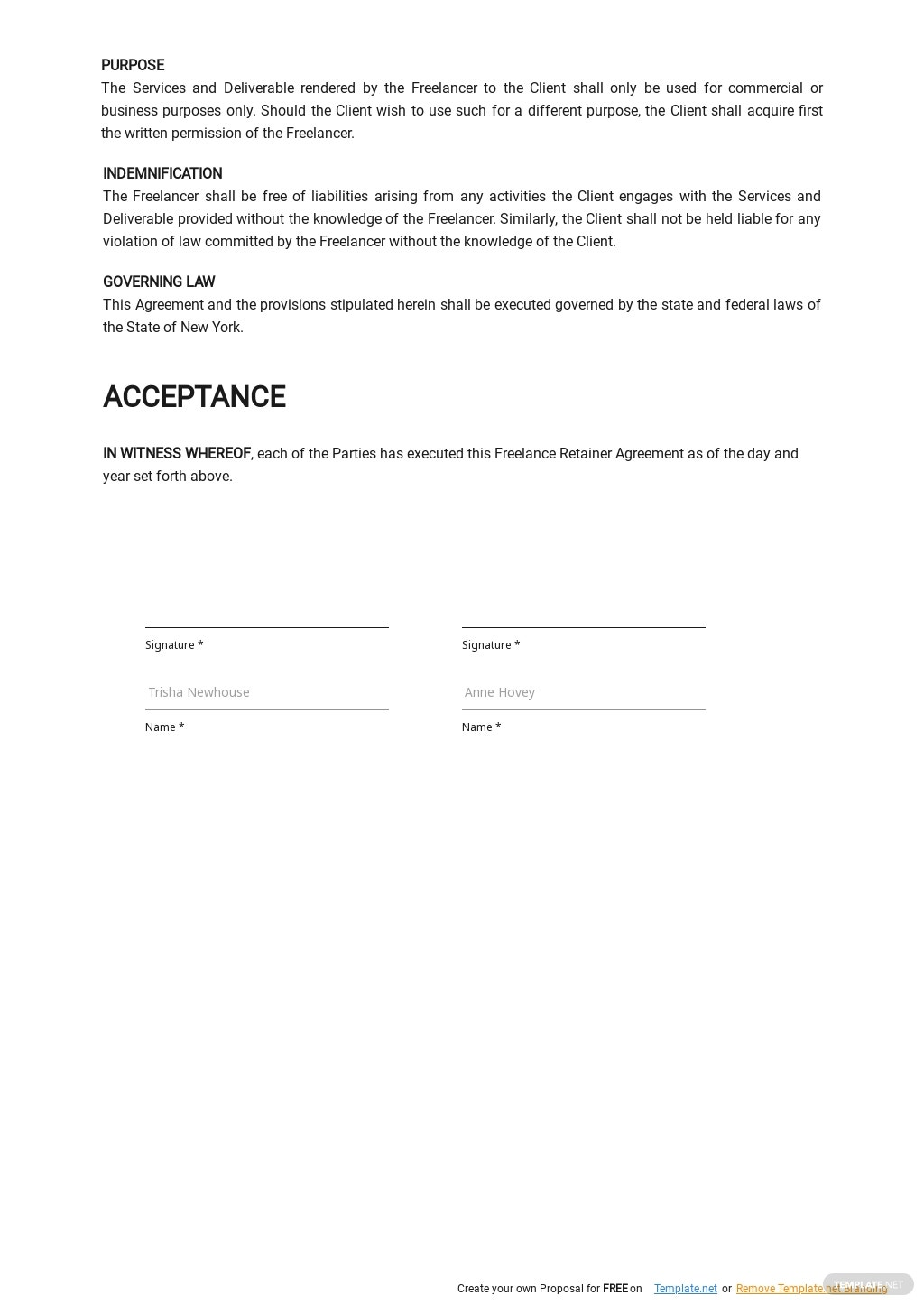 Freelance Retainer Agreement Template 2.jpe