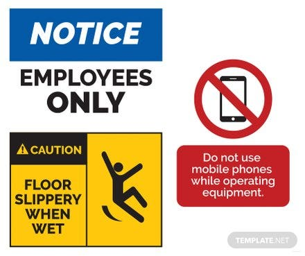 Free Sign Templates Download ReadyMade Templatenet - Caution sign template