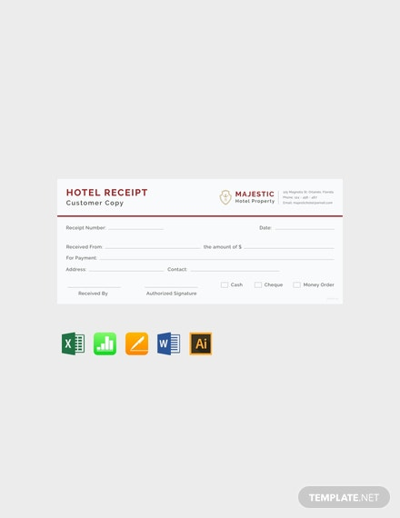 Free-Simple-Hotel-Receipt-Template
