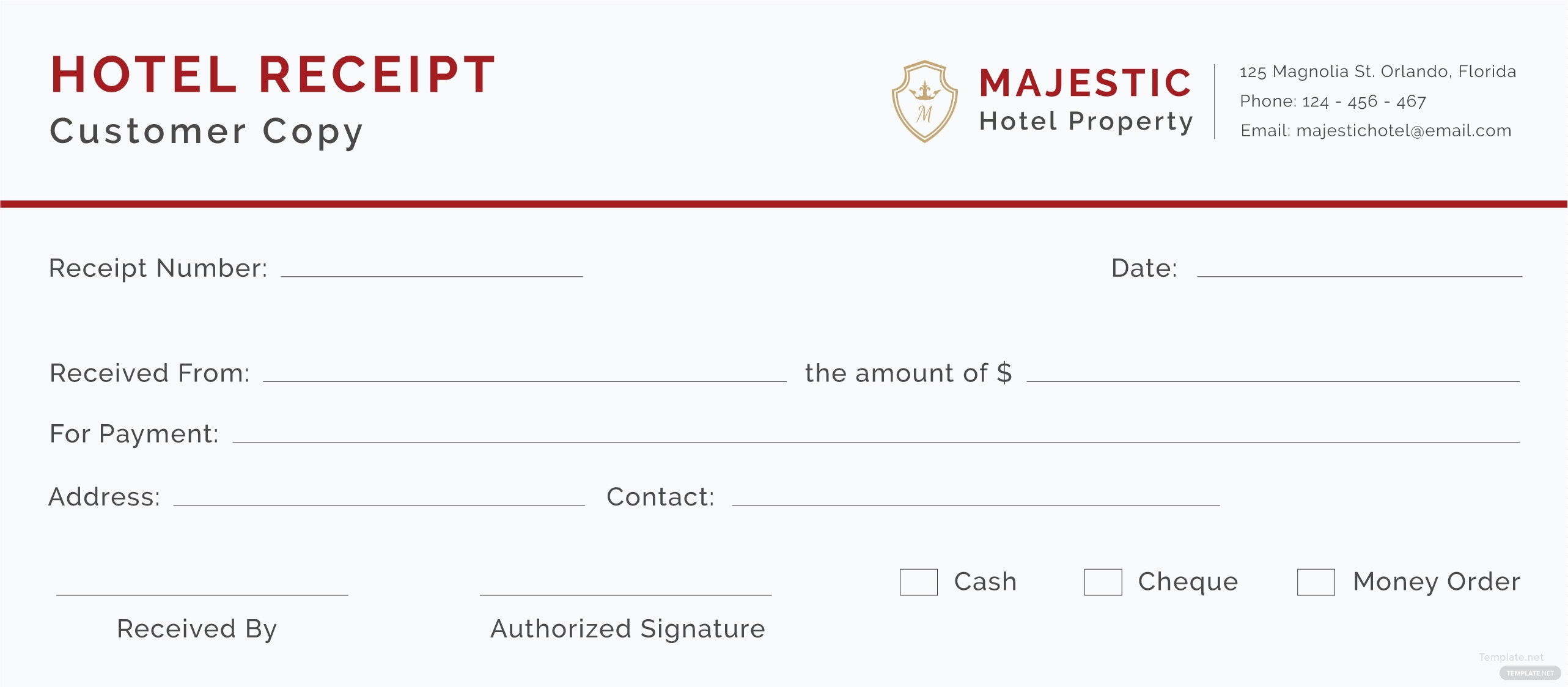 Free hotel receipt template in adobe illustrator microsoft word hotel receipt template thecheapjerseys Images
