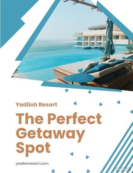 Holiday Resort Flyer Template.jpe