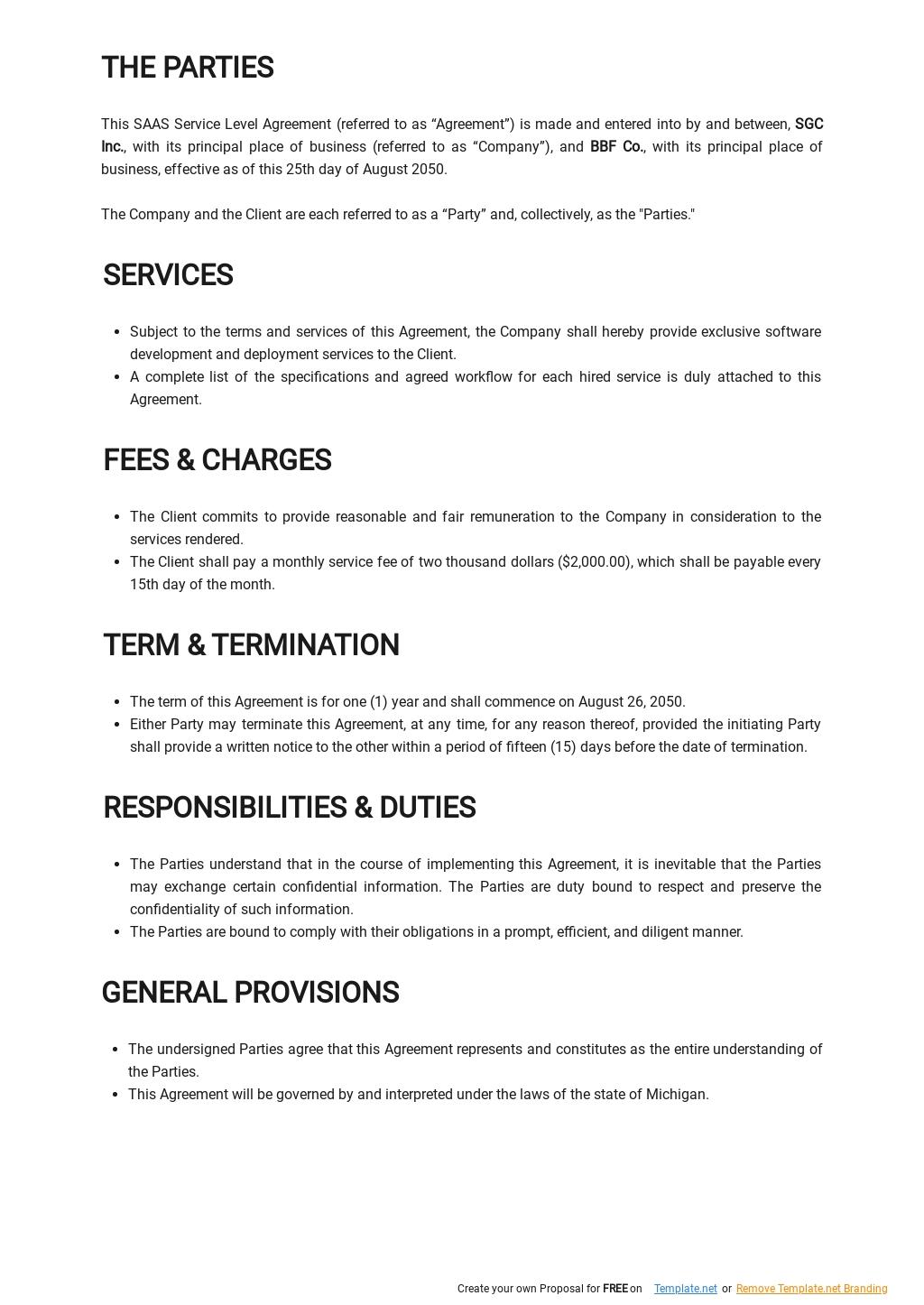 SAAS Service Level Agreement Template 1.jpe