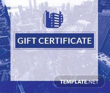 Free massage gift certificate template in adobe illustrator free company gift certificate template yadclub Image collections