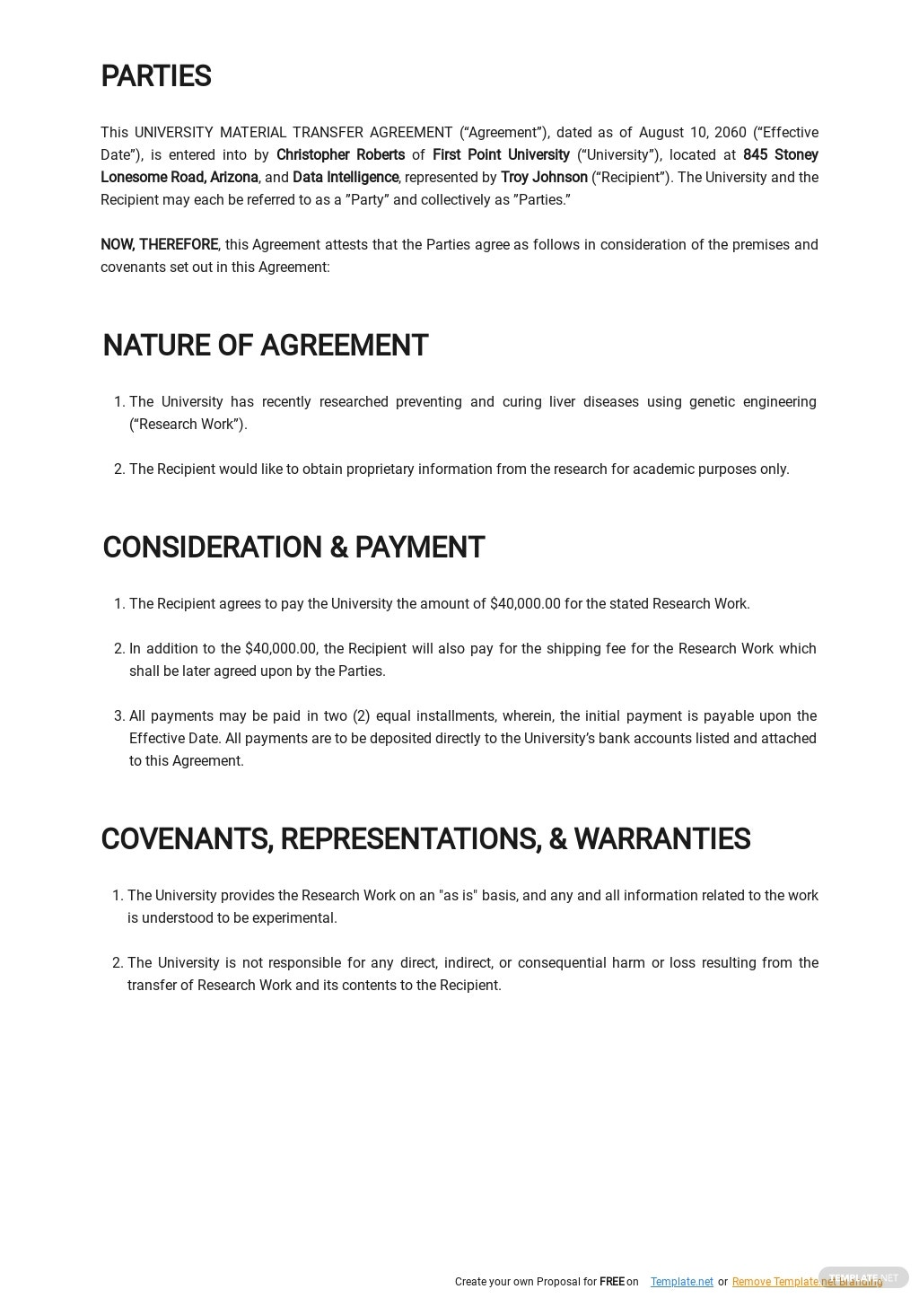 University Material Transfer Agreement Template  1.jpe